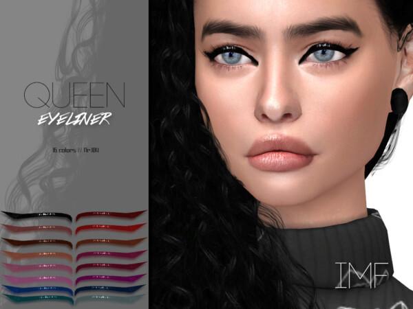 Queen Eyeliner N.104 by IzzieMcFire from TSR