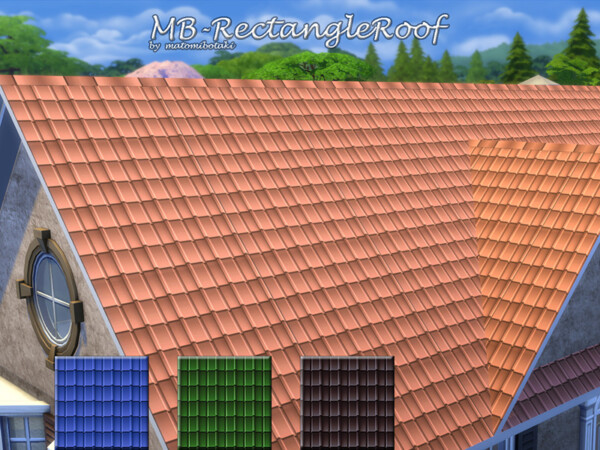 Rectangle Roof by matomibotaki from TSR