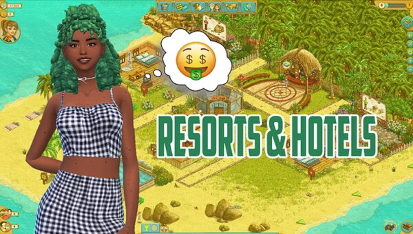 Resorts and  Hotels Mod from Kawaiistacie