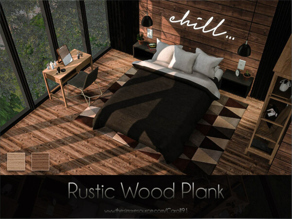 Rustic Wood Plank by Caroll91 from TSR