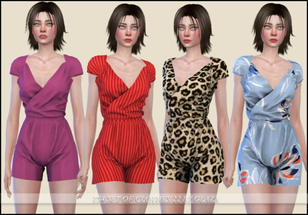 Set of Clothes 22 from All by Glaza