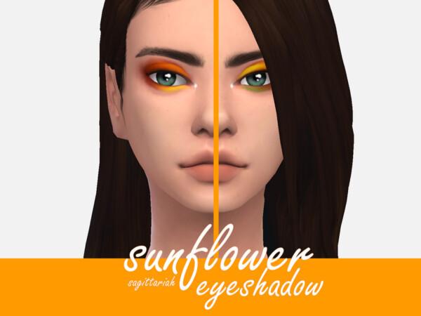 Sunflower Eyeshadow by Sagittariah from TSR