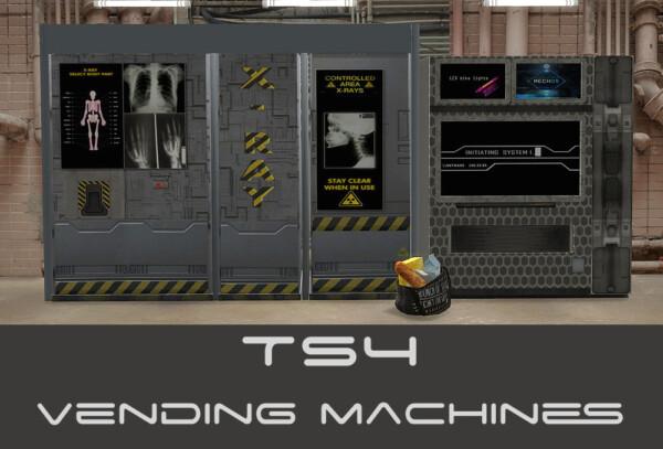 Vending machines recolored from Riekus13