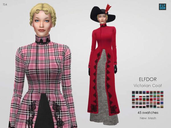 Victorian coat by Elfdor from TSR