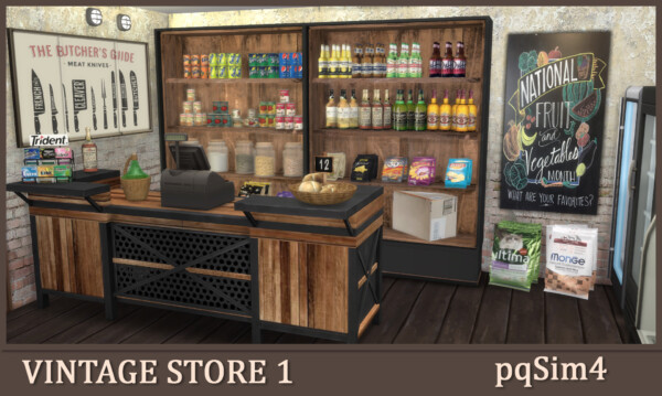 Vintage Store Part 1 from PQSims4