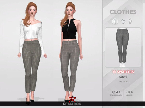 Work Pants for Women 02 by remaron from TSR