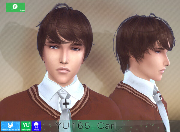 YU165 Carl Hairstyle from NewSea
