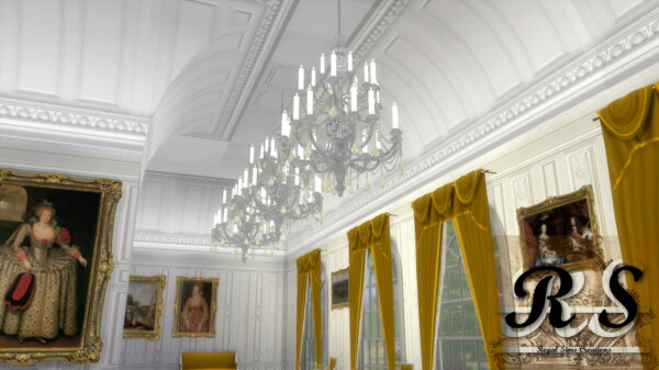 Vaulted Ceiling Set from Regal Sims