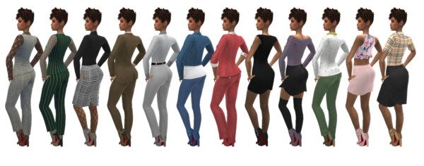 Ankle Booties from Sims 4 Sue