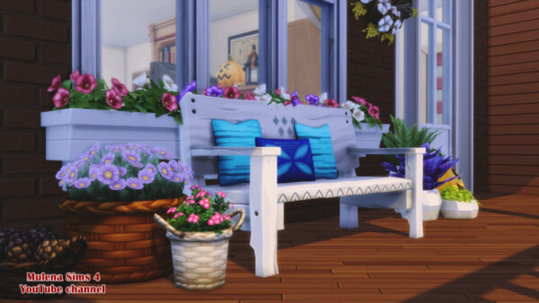 Autumn family home from Sims 3 by Mulena