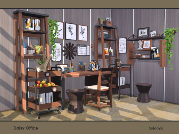 Daisy Office by soloriya from TSR