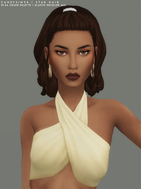 Star hair from Candy Sims 4