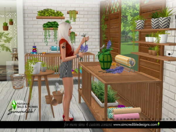 Naturalis Skills and Hobbies by SIMcredible! from TSR