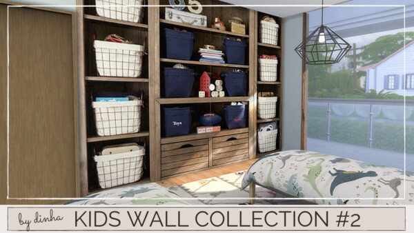 Kids Wall Collection from Dinha Gamer
