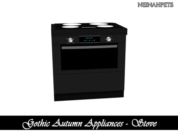 Gothic Autumn Appliances from TSR