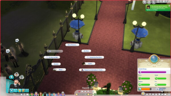 Vampiric Teleportation Spells by TwelfthDoctor1 from Mod The Sims