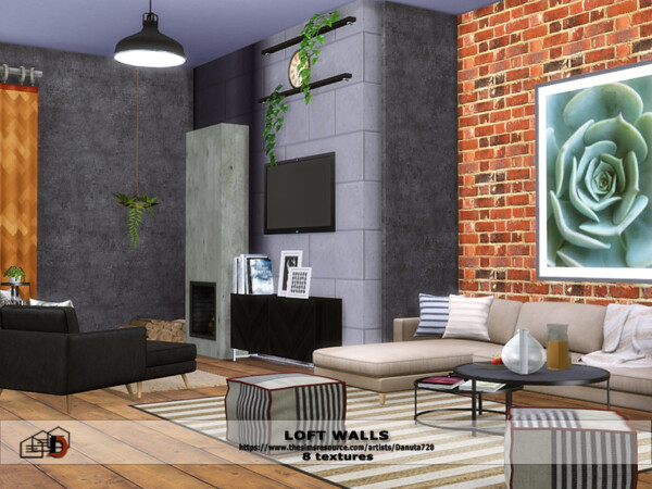 Loft Walls by Danuta720 from TSR