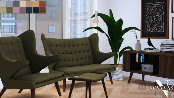 Papa Bear and Barbier Seat Collection from NOVVAS