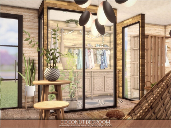 Coconut Bedroom by MychQQQ from TSR