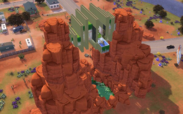 Strangerville Outlook by  alexiasi from Mod The Sims
