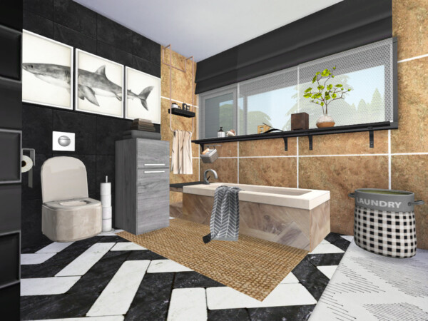Graphicus Bathroom by fredbrenny from TSR
