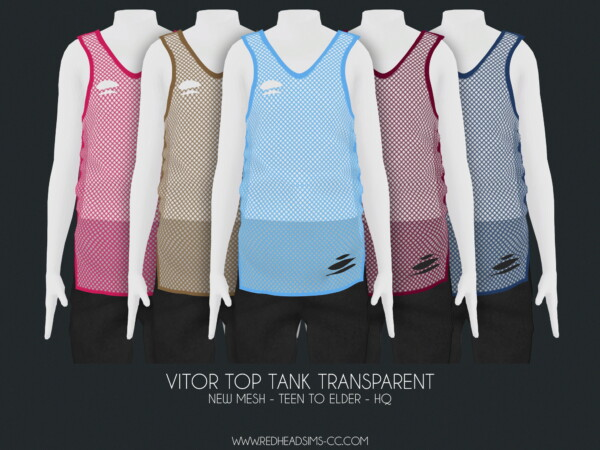 Vitor Tank Top from Red Head Sims