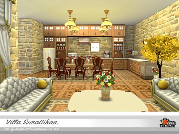 Villa Surattikan House NoCC by autaki from TSR