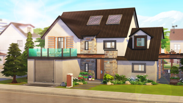 Perfect Eco Friendly Family Home from Aveline Sims