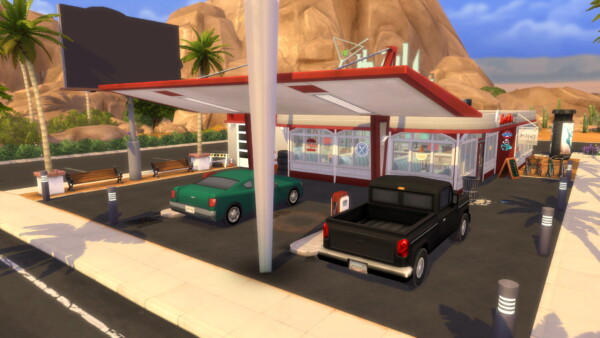 Restaurant Diner 50`s by Restaurant Diner 50 from Luniversims