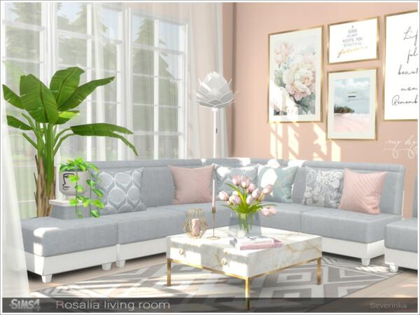 Rosalia livingroom furniture from Sims by Severinka