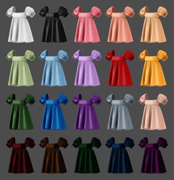 Puff mini dress from MMSIMS