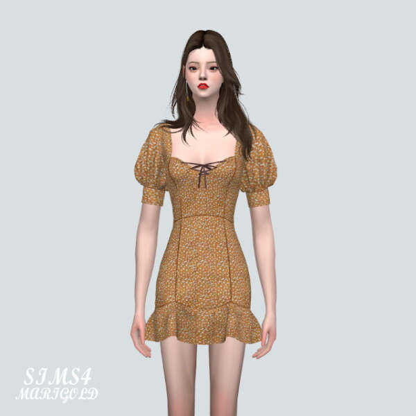 55 A Mini Dress from SIMS4 Marigold