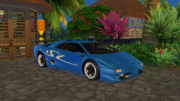 Lamborghini Diablo SV from Lory Sims