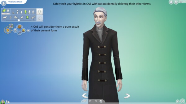 All in One Occult Hybrid Stabilizer by Iced Cream from Mod The Sims