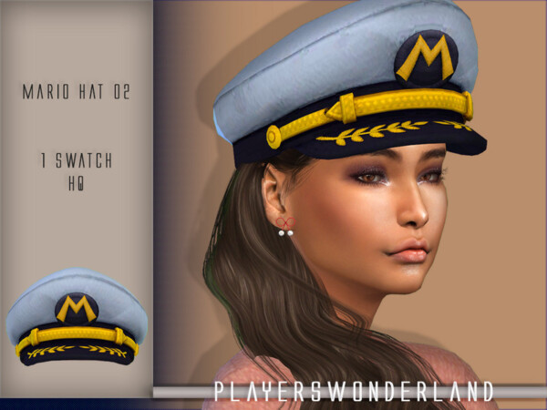 Earrings and Hat from Players Wonderland