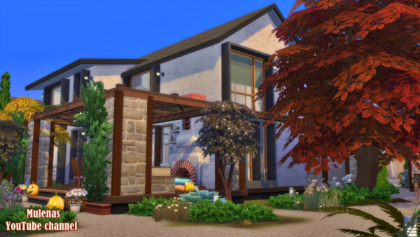 Large family home from Sims 3 by Mulena