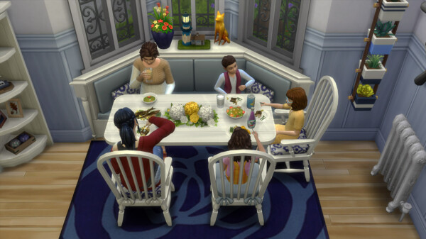 Bay Dining Seats by K9DB from Mod The Sims
