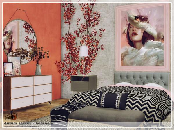 Autum secret bedroom by  Danuta720 from TSR