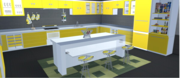 Senso Kitchen from Lizzy Sims