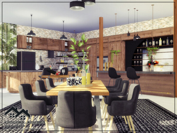 Concors  Kitchen by marychabb from TSR
