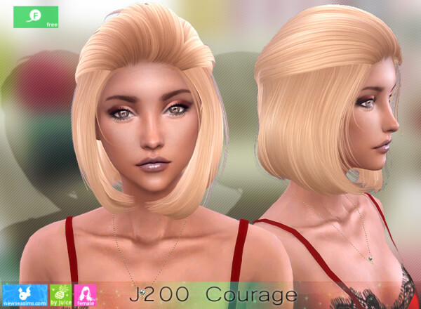 J200 Courage Hair from NewSea