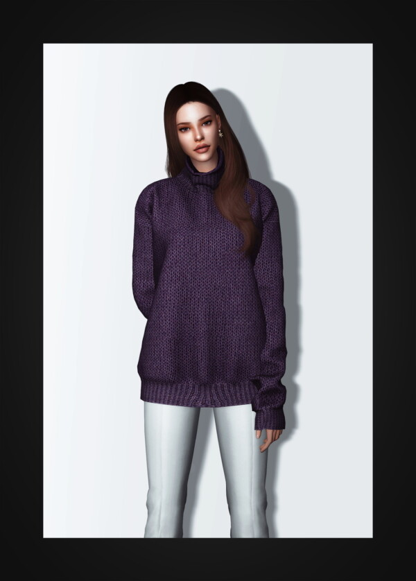 Oversized Turtleneck Sweater from Gorilla