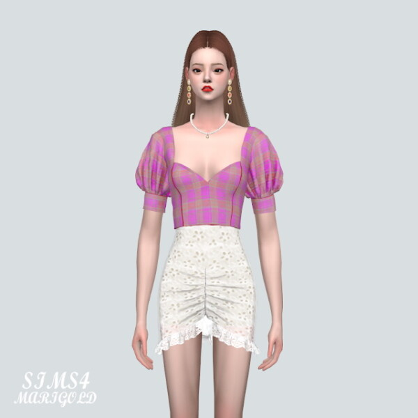 55 A Blouse V2 from SIMS4 Marigold