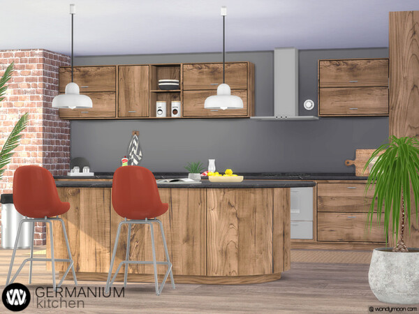 Germanium Kitchen Part I by wondymoon from TSR