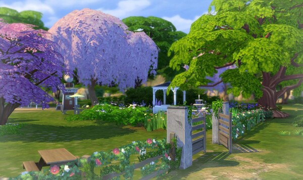 Les Cerisiers Park by  Sirhc59 from Luniversims