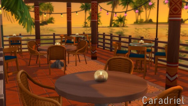 The Shrimp Restaurant by Caradriel from Luniversims