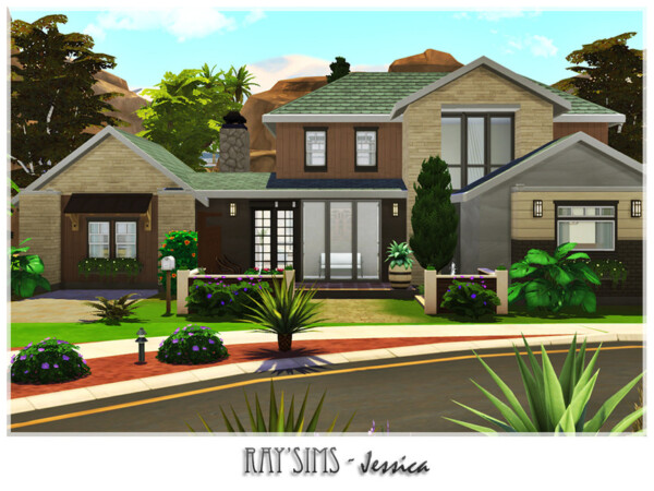 Jessica House by Ray Sims from TSR