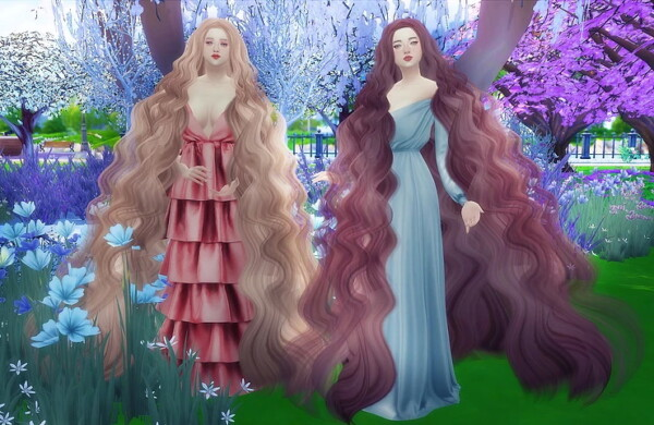Veronica hair from Nilyn Sims 4