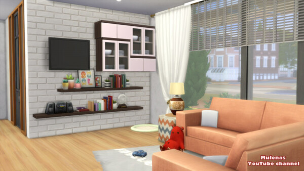 Home for a young family from Sims 3 by Mulena