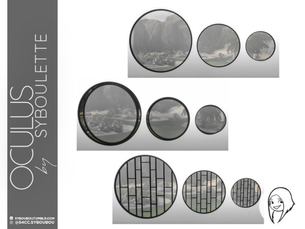 Oculus Windows Set by Syboubou from TSR